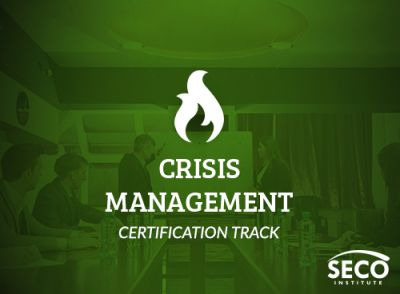 Crisis Management CERTIFICATION TRACK