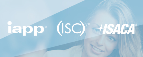 Preparation courses IAPP, (ISC)2 en ISACA