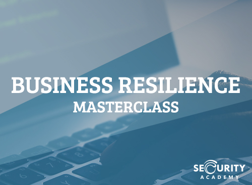 BUSINESS RESILLIENCE MASTERCLASS